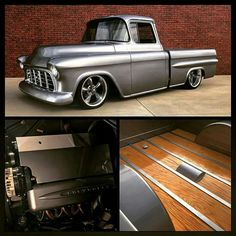 Hot Rod Trucks, New Trucks, Custom Trucks, Cool Trucks, Chevy 3100, Chevy Pickups, Classic Pickup Trucks, Chevy Pickup Trucks, Old Cars