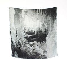 silk print. gypsum
