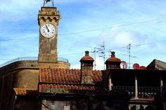 L'orologio del Masso Leopoldino #invadiamosorano #invasionidigitali #sorano #liberiamolacultura