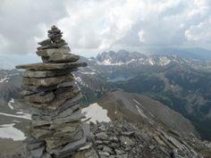 Les cairns Origine histoire signification photo | Ma Foux d'Allos
