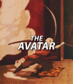 The Avatar   Aang   Avatar: The Last Airbender (gif) ATLA