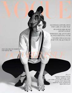 Karen Elson para Vogue Korea, Octubre 2013