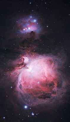 The Orion Nebula is a spectacular deep sky object to enjoy through astrophotography. Learn more about and what it takes to photograph this colorful cloud of gas and dust. Galaxy Background, Iphone Background Wallpaper, Galaxy Wallpaper, Aesthetic Galaxy, Aesthetic Space, Hubble Space Telescope, Space And Astronomy, Astronomy Facts, Astronomy Pictures