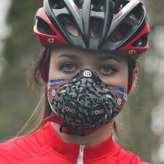 Naroo UV Dust Protection Sport Mask X5s for Bike Cycle Ski Fishing Red Color