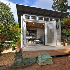 pottery studio home via houzz