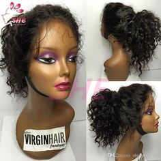 Brazilian Human Full Lace Human Hair Wigs Glueless Kinky Curly Full Lace Front Wig For Black Women Promotion Affordable Lace Wigs Lace Wig Glue From Sheladyhouse, $69.95| Dhgate.Com