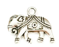 5 Elephant Charms, 2 Sided Elephant Charms, Jungle Charms, Animal Charms, Jewelry Making Supplies, Keychain Charms, C14 by vickysjewelrysupply. Explore more products on http://vickysjewelrysupply.etsy.com