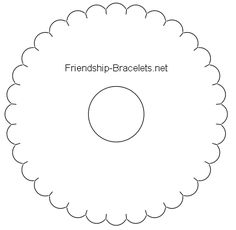 Tutorial - friendship-bracelets.net Complete tutorial with templates for teaching others - great for community crafting!