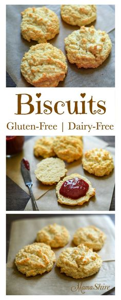 Gluten-free biscuits that are light and fluffy! Super easy to make and a family favorite. Dairy-free, sugar-free, grain-free option. THM - S