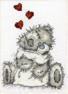 Tatty Teddy - Teddy Hugs cross stitch