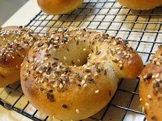 Sourdough Bagels for Sourdough Surprises