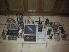 28 scale model/miniature torture and execution devices