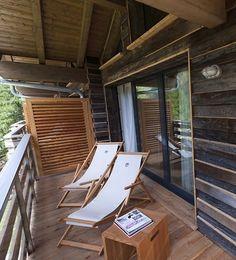 Designové venkovní skládací dřevěné lehátko