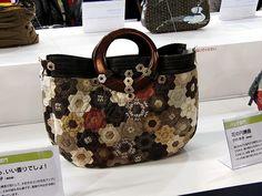 Hexagon Bag.  2009 Tokyo International Quilt Festival.  Photo by Robots-Dreams, via Flickr