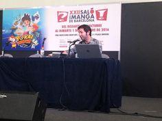 Vídeo de la presentación de Mediatres en el XXII Salón del Manga de Barcelona