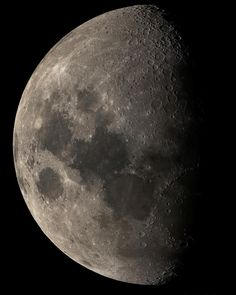This is an absolutely stunning image of the moon. Image credit to @astro_hugh Have you ever viewed the moon through a telescope? Even with the naked eye surface features can be identified on the surface of the moon. With even a small telescope you can see the surface of the moon in amazing and stunning detail. It's cratered surface is easily recognized. When viewed with a telescope a countless number of craters can be seen as well as mountains and other surface features. For many of us the…
