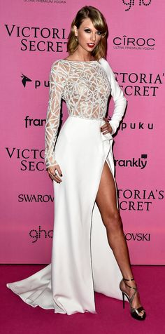 Taylor Swift at the VS Fashion Show