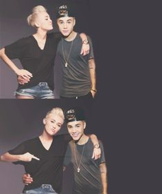 I think Justin bieber and Miley cyrus should be together! This needs to happen!!