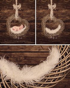 Heart With Wooden Background - Beautiful Digital Newborn Photography Props download - psd with Layers