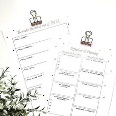 Shared a free 2-page reflection and planning printable for the new year if you're into that kinda thing. #ontheblog #drawntodiy.com