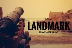 Local Landmark Scavenger Hunt gives you some great suggestions to tailor a hunt that is perfect for your city! #‎stumin‬ ‪#‎youthministry‬ ‪#‎scavengerhunt‬