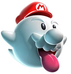 View an image titled 'Boo Mario Art' in our Super Mario Galaxy art gallery featuring official character designs, concept art, and promo pictures. Super Mario Kostüm, Super Mario Nintendo, Super Mario World, Nintendo Ds, Mario Kart, Mario Bros., Metroid, Image Mario, Nintendo Characters