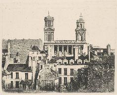 Armand-Hippolyte-Louis Fizeau (French, 1819–1896). St. Sulpice, Paris, 1841. The Metropolitan Museum of Art, New York. Harris Brisbane Dick Fund, 1946 (46.122.22)