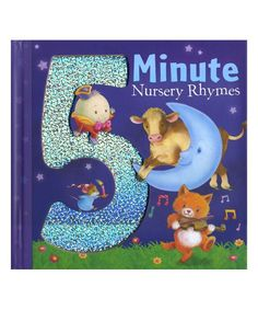 tiger tales Five Minute Nursery Rhymes Hardcover | zulily