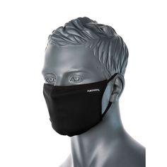Máscara textil de 3 capas antimicrobiana reutilizable Lining Fabric, Cotton Fabric, Cara Fresca, Facial, Safety Mask, Microorganisms, Poly Bags, Black And Navy, Ear Loop