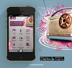 Application mobile du Festival Les Escales 2014. Une application mobile développée par l'agence #Web et #Mobile www.imagescreations.fr, à télécharger sur votre smartphone iOS ou Android.