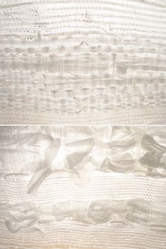...love the light, and of course anything to do with paper! Paperweave by Elisa Strozyk via Eva Black Design