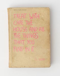 house rules on Behance