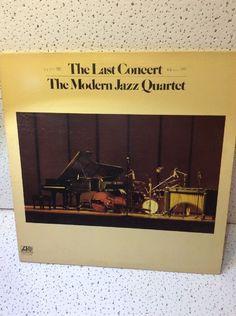 The Modern Jazz Quartet. Double Album. The Last Concert #Quartet