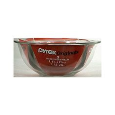 Pyrex 6001001 Mixing Bowl Set 3 Piece ... (This is an affiliate link) #mixingbowls