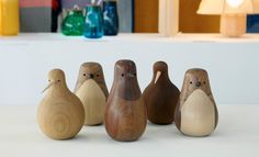 Recycled wood birds by Lars Beller Fjetland |100% Norway | (Wallpaper*)