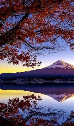Beautiful Nature Pictures, Beautiful Nature Scenes, Nature Photos, Amazing Nature, Beautiful Landscapes, Beautiful Sunrise, Sunset Photography, Landscape Photography, Beautiful Places In Japan