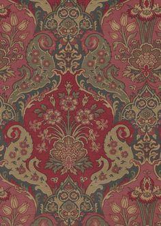 Fabrics F2644001 Bangalore | Pierre Frey Pierre Frey, Flower Shop Design, Oriental Print, Farmhouse Fabric, Custom Carpet, Japanese Interior, Christmas Pictures, Fall Trends, Decoration