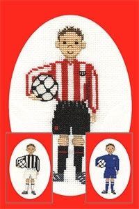 Footballer Card Kit from Derwentwater Designs £8.20 - Past Impressions