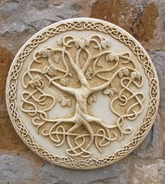 Garden Wall Plaques : Floral Wall Plaques : Tree of Life Wall Plaque