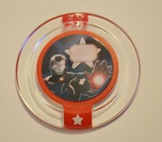Disney Infinity 2.0 Power Disc - Marvel Team-Up: Iron Patriot