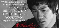 Great words from Bruce Lee.