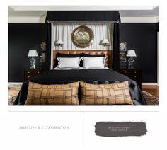 Marie Flanigan Interiors   8 Bedroom Paint Colors To Fit Any Mood    Benjamin Moore   Deep Caviar