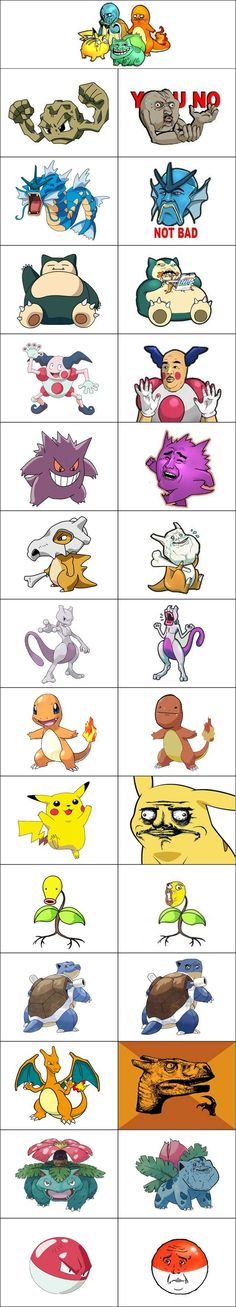 Pokemon memes... hehe