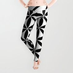 Pure Energy The Flower of Life Leggings Spandex Material, Polyester Spandex, Flower Of Life, Printed Shirts, Your Style, How To Make, How To Wear, Leggings, Pure Products