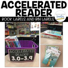 I love these color coded AR book labels and AR bin labels. They have made my classroom library an organized place and a colorful place!