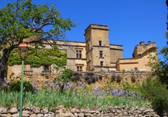 84160 Lourmarin - typical village houses, Renaissance Château, churches Saint-Andre and Saint-Trophime, art galleries, market on Friday morning