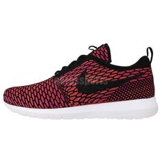 reputable site ac5bf 4e68d Nike Flyknit Rosherun NM Red Roshe Run 2014 Mens Running Shoes Fashion  Sneakers. Nike Run Roshe, Zapatos De Correr Para Hombre ...