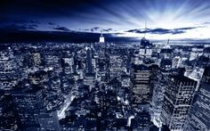 WALLPAPERS HD: New York in Blue
