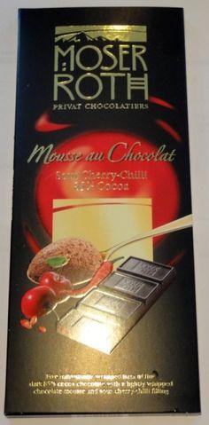 Moser Roth Mousse au Chocolat Sour Cherry-Chilli mmmmmmmm