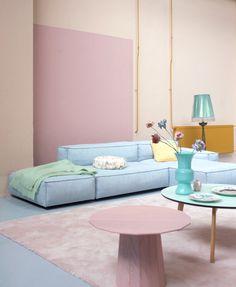 Cute Pastel Living Room Design Ideas That You Should Have 32 Pastel Living Room, Pastel Room, Pastel House, Paint Colors For Living Room, Deco Pastel, Pastel Decor, Room Inspiration, Interior Inspiration, Colour Inspiration